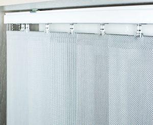 Вертикальные, цепь управления металл Ткань: Скрин 1608 серый