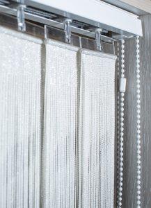 Вертикальные 89мм Бриз Ткань: Double 1606 белый