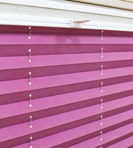 Плиссе день-ночь ткань: Ноктюрн 4858 лиловый