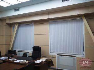 Вертикальные жалюзи — ул. Неверовского, Метро Парк Побды