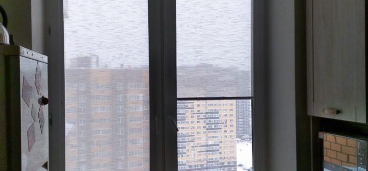Рулонные шторы uni 2 — Долгопрудный, ул. Московская