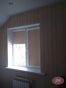Рулонные шторы Уни 2 — Мытищи, ул. Герцена