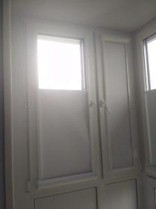 Рулонные шторы Уни пружина — Красногорск, ул. Дачная