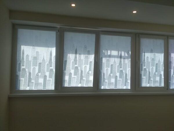 рулонные шторы нью-йорк