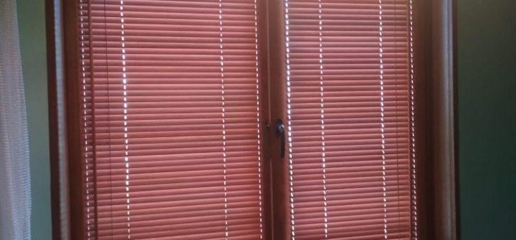 Горизонтальные жалюзи из бамбука 25 мм — город Химки, ул. Молодежная