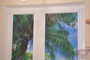 Рулонные шторы Уни 2 с фотопечатью - г. Москва, ул. Исаковского, Метро Строгино