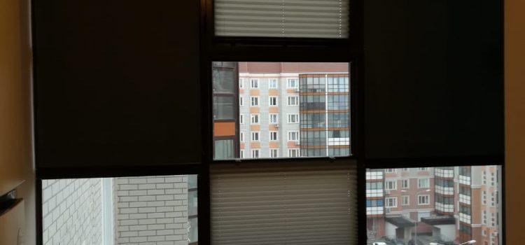 Шторы плиссе и рулонные шторы — МО, г. Видное, деревня Лопатино