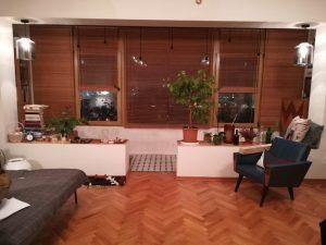 Горизонтальные жалюзи из бамбука 25 мм - Москва, 2-й Сетуньский проезд, Метро Кутузовская