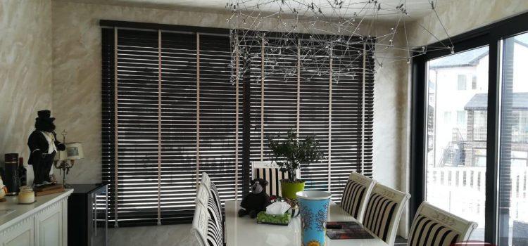 Горизонтальные жалюзи из бамбука 50 мм — Поселок «Вёшки», ул. Вешняя