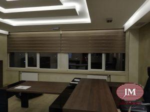 Рулонные шторы «Зебра» - Москва, ул. Велозаводская