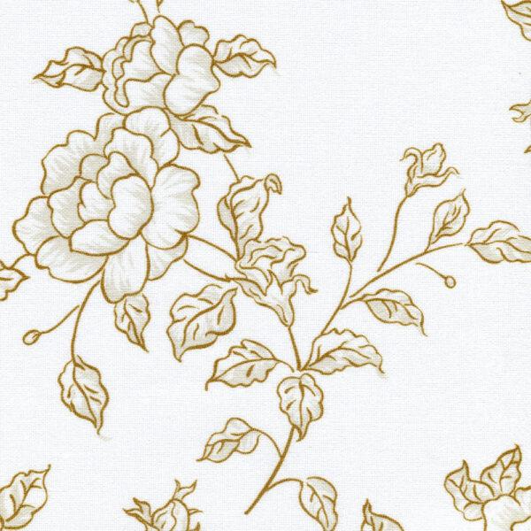 Китайская роза 2870 коричневый 200см