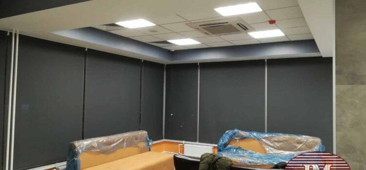 Рулонные шторы — Офис, Московская область, г. Красногорск