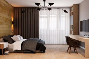 Шторы для спальни № 5