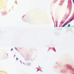 зебра ОБЛАКА 4096 розовый, 280 см