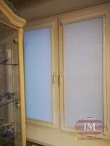 Рулонные шторы в системе UNI2 из ткани Невада - Ул.Севанская