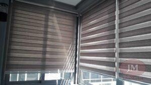 Рулонные шторы Зебра для балкона - г. Люберцы