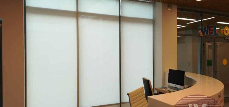 Рулонные шторы с тканью Скрин - г. Москва, Ботанический проезд