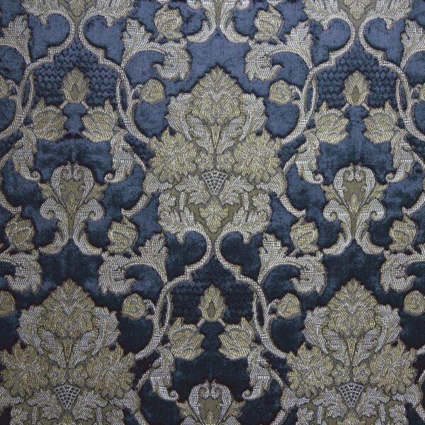 "Ткань 378 ""Saint-Michel"" / 7 Dauphine Sapphire"