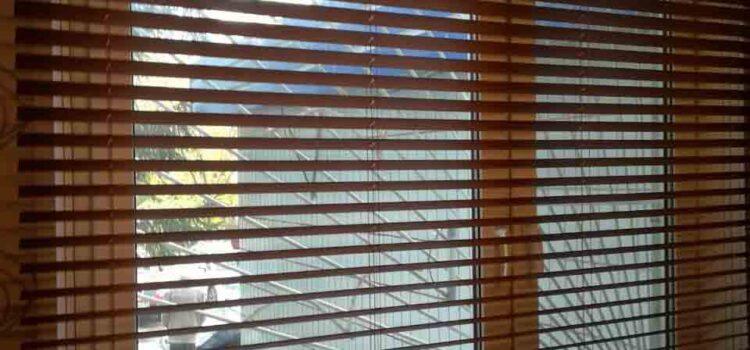 Горизонтальные жалюзи 50мм, материал Бамбук — ул.Миклухо-Маклая