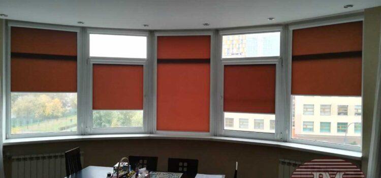 Рулонные шторы в кассетной системе UNI2