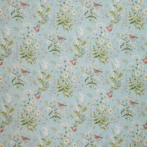 """Ткань 350 """"Flower art"""" / 11 Forever spring Eau de nil"""