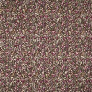 "Ткань 350 ""Flower art"" / 12 Kelmscott Claret"