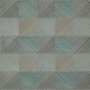 "Ткань 361 ""Geometric"" / 16 Quadro Aquatic"