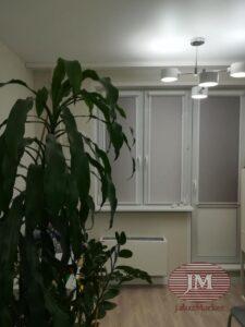 Рулонные шторы в системе UNI2 - Красногорский бульвар