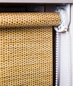 Рулонные LUX 25мм классика Ткань: Шанхай 2868 коричневый