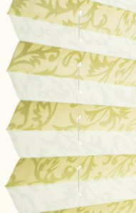 Плиссе Ткань: Шато 0225 белый