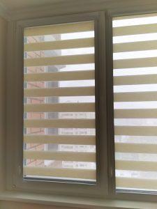 Рулонные кассетные шторы UNI Зебра