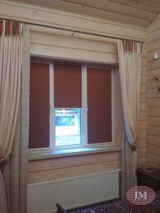 Рулонные шторы Уни 2 — СНТ Урожай, ул. Лесная