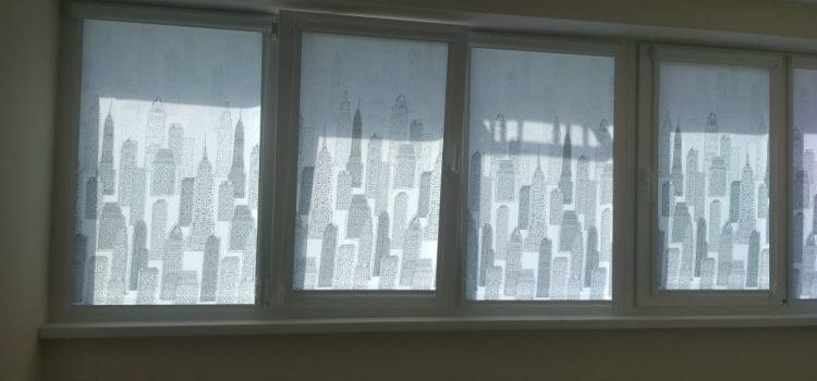 Рулонные шторы Уни 2 — Химки, ул. 9 Мая