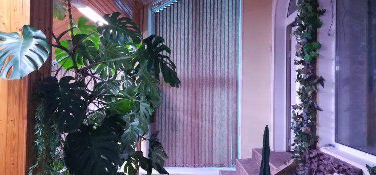 Вертикальные наклонные жалюзи — МО, Щелковский район, деревня Леониха