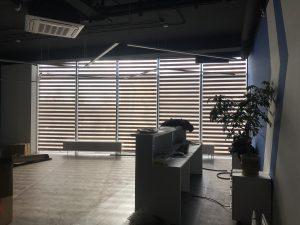 Рулонные шторы зебра - Химки, ул. Молодежная