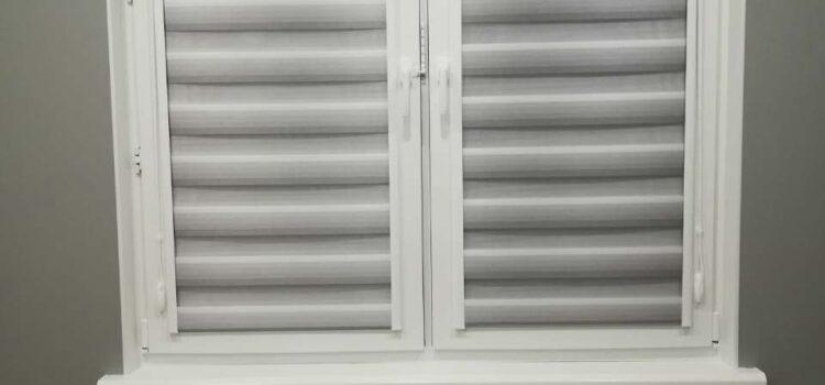 Рулонные шторы Уни 2 «Зебра» — г. Москва, Солнцево, ул. Производственная, метро Солнцево