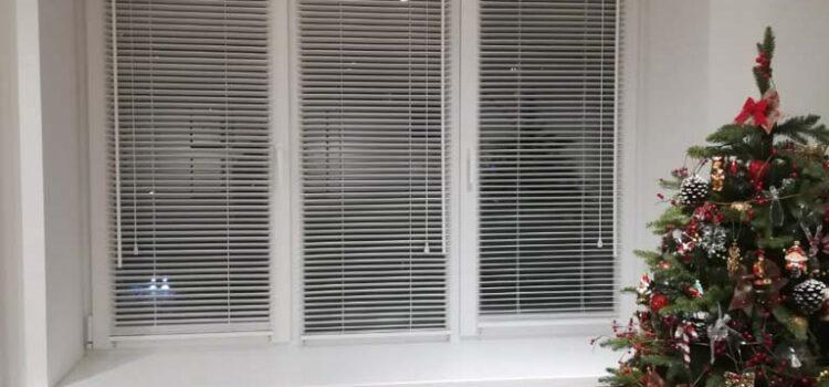 Горизонтальные жалюзи из дерева 25мм — г.Москва, ул.Римского-Корсакова, метро Отрадное