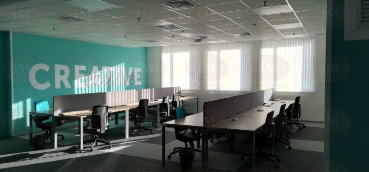 Вертикальные тканевые жалюзи для офиса — г.Москва, Варшавское шоссе
