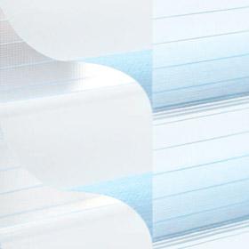 Дуэт 25 5150 голубой/белый 280 см