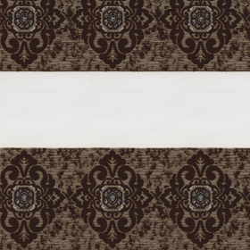 зебра ДАМАСК 2870 коричневый, 270 см