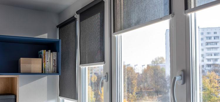 Солнцезащитные рулонные шторы