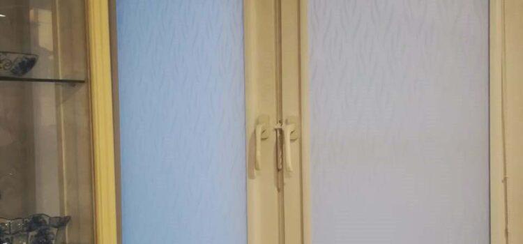 Рулонные шторы в системе UNI2 из ткани Невада