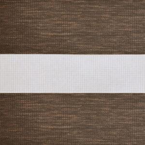 зебра САХАРА 2871 т. коричневый, 210 см