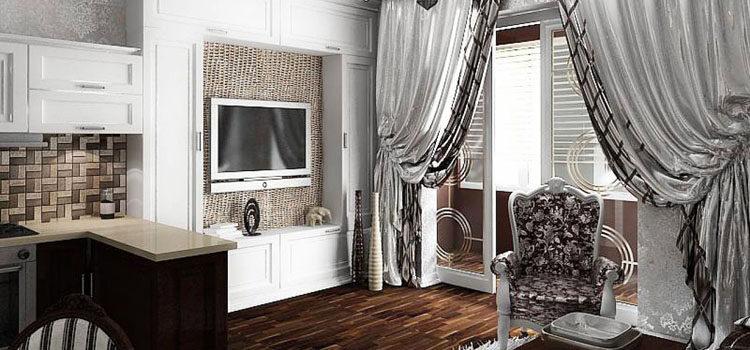 Шторы в стиле Арт Деко для гостиной и спальни