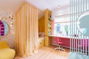 Шторы из коллекции тканей Fancy для детской комнаты