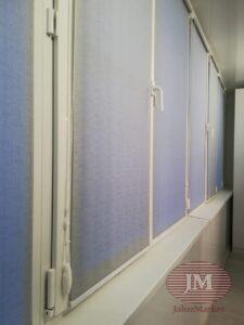 Рулонные шторы системы MINI для балкона - Москва, ул.Кулакова