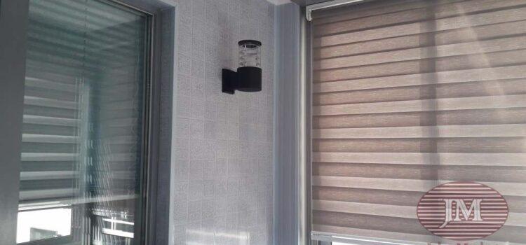 Рулонные шторы Зебра  для балкона — г. Люберцы