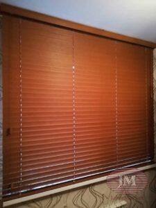 Горизонтальные жалюзи 50мм, материал Бамбук