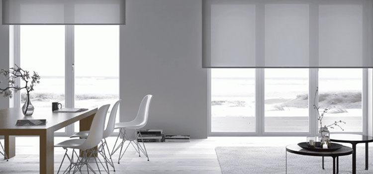 Жалюзи и рулонные шторы в гостиную