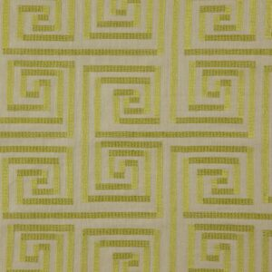 "Ткань 361 ""Geometric"" / 11 Hypnotic Chartreuse"